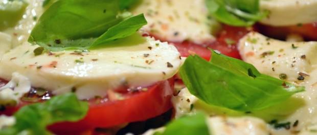 Mozzarella-Tomaten-Salat