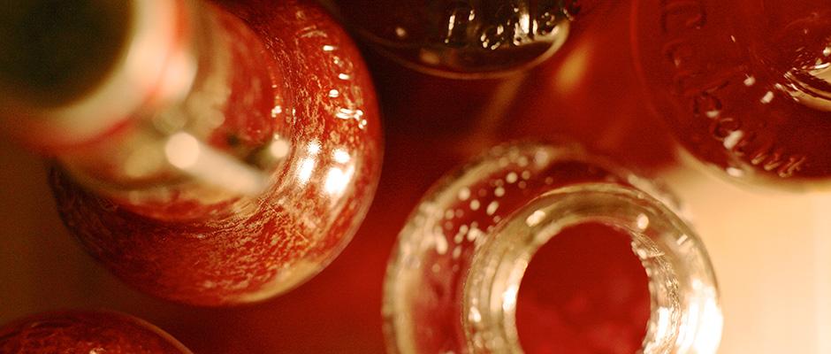 Rezept für einfachen Erdbeersirup,
