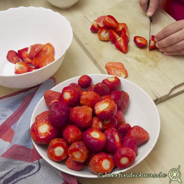 Erdbeerkuppeltorte, Erdbeerkugeltorte