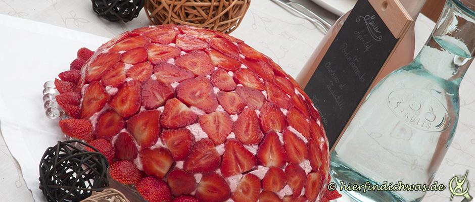 Erdbeerkuchen, Erdbeertorte, lecker, einfach