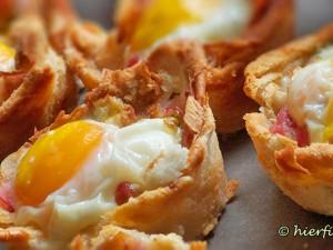 Fruehtstuecksidee Toast Muffins Bueffet