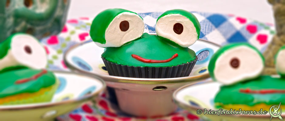 Kindergeburtstags Cupcakes
