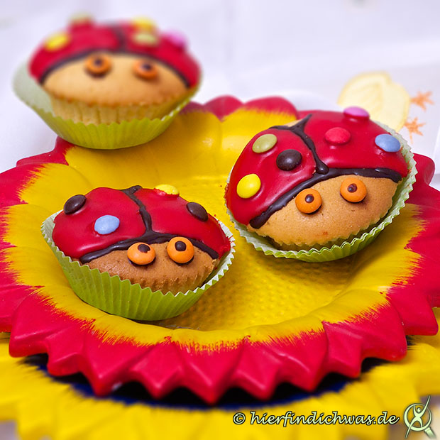 Backrezepte Muffins Cupcakes Kinder