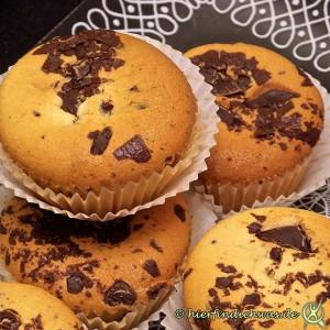 Muffin Schokoladensplitter einfach rezept