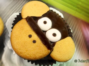 Affen-Cupcake Rezept