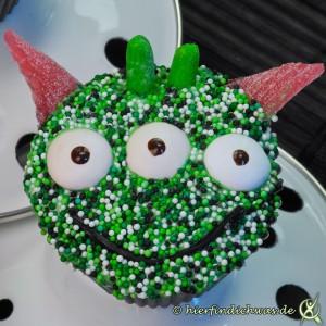 Alien Cupcakes Kindergeburtstags Idee