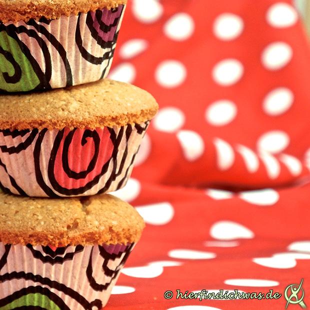 Muffins Rezept mit Banane und Walnuessen