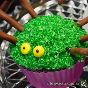Muffin Spinne Halloween Gruselabend