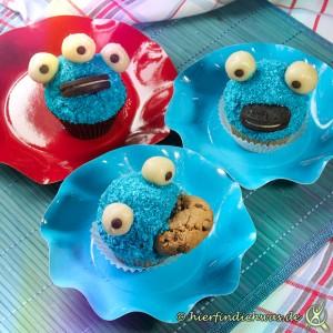 Kruemelmonster Cupcakes Backanleitung