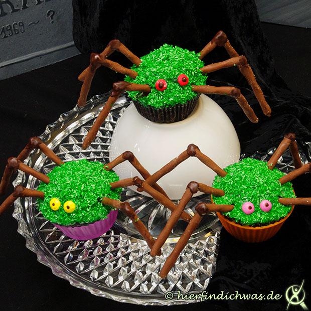 spinnen cupcake backrezepte mit cupcake grundteig. Black Bedroom Furniture Sets. Home Design Ideas