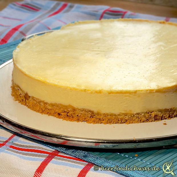 Cheesecake Backrezepte