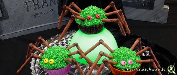 Spinnen Cupcakes Rezept Backideen
