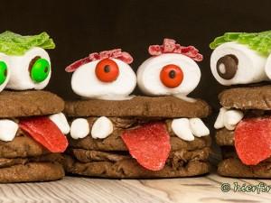 Halloween-Cookies-Plätzchen