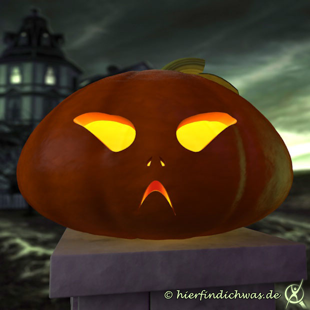 Schnitzvorlage für Kürbisse – Halloween ganz stilecht - Backrezepte-Blog