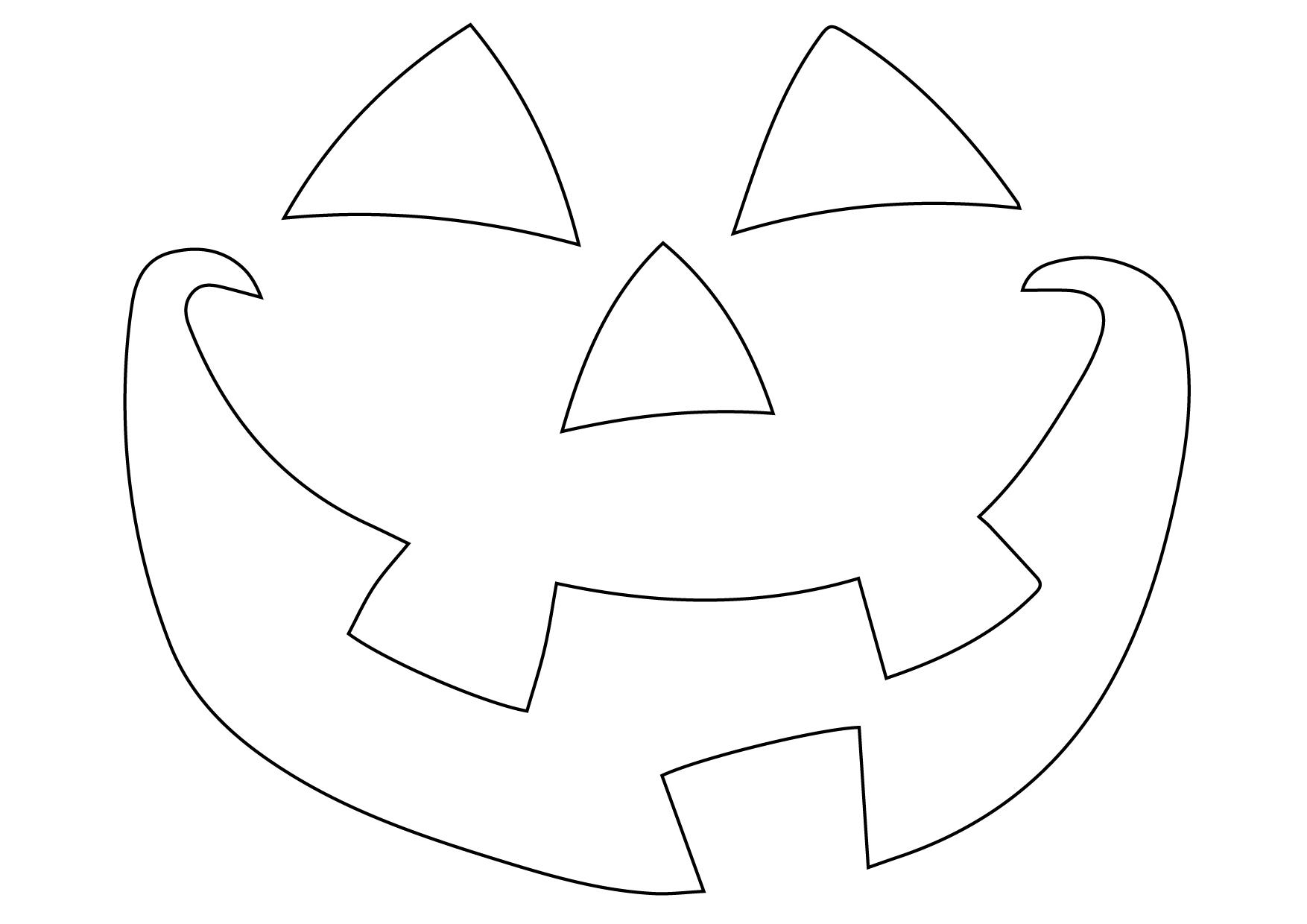 Schnitzvorlage Fur Kurbisse Halloween Ganz Stilecht Backrezepte Blog