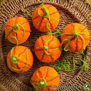 Cupcakes Rezept als Kuerbis