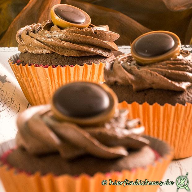Schokocupcake mit Schokotopping