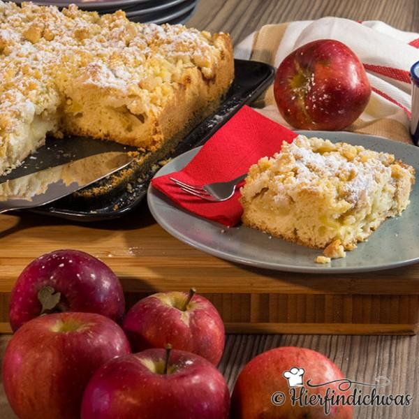 Apfelkuchen Streuselkuchen