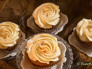 Honig-Zimt-Cupcakes