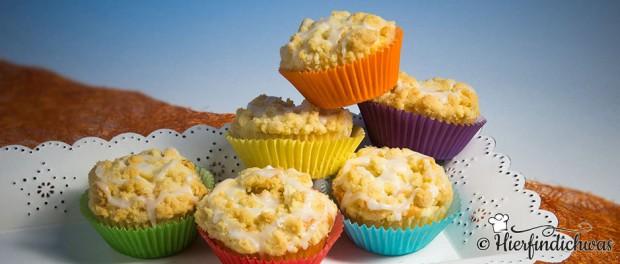 Marzipan Apfel Muffin