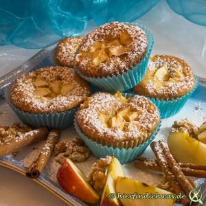 Muffin Apfel Walnuss Rezept