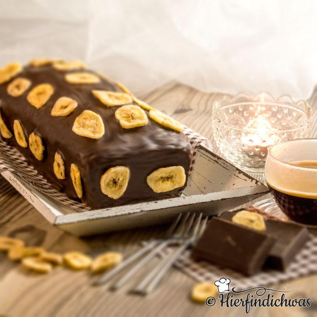Schokoladiger Bananenkuchen