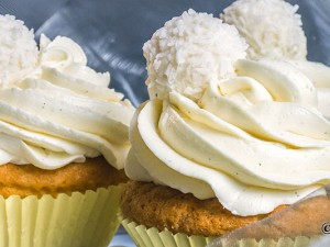 Raffaello-Cupcakes Rezept