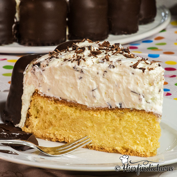 Schokokuss Torte Mit Biskuitteigboden Kindergeburtstag