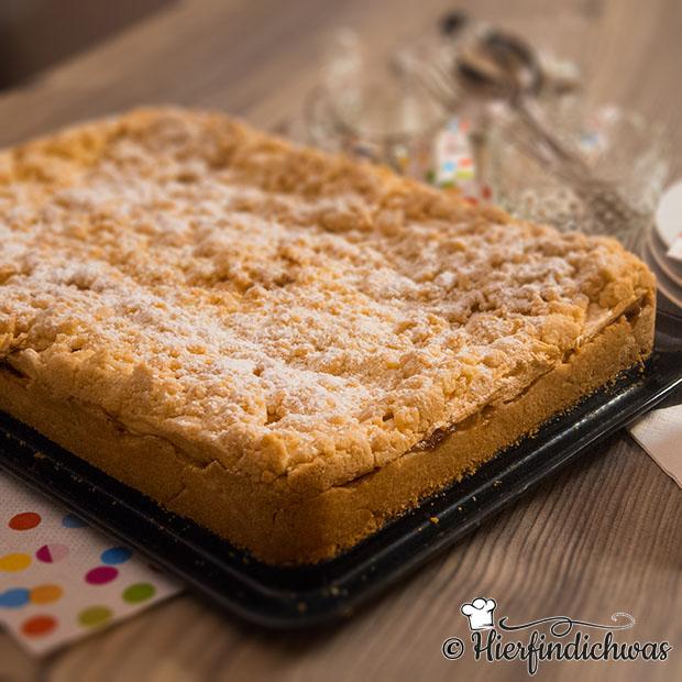 Apfelstreuselkuchen Mit Baiser Und Wurzigem Apfelmus