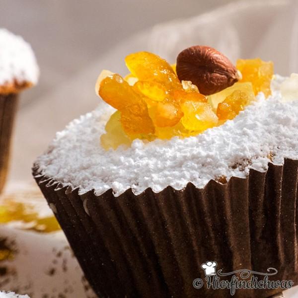 Wuerzige Muffins mit Zimt