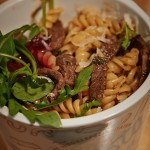 Pasta-Gericht Muhberry vom Foodtruck