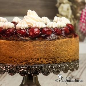 Kirschkaesekuchen Cheesecake