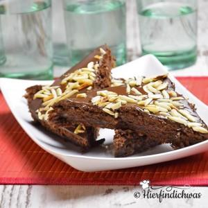 Schokoladenkuchen fuer Gaeste