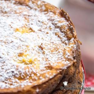 Kaesekuchen Rezept mit Apfel