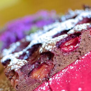 Blechkuchenrezepte mit Schokolade