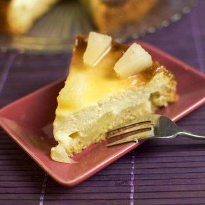 Kaesekuchenrezept-Ananas