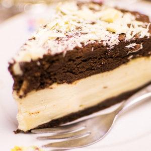 Mousse-au-Chocolat-Kaesekuchen