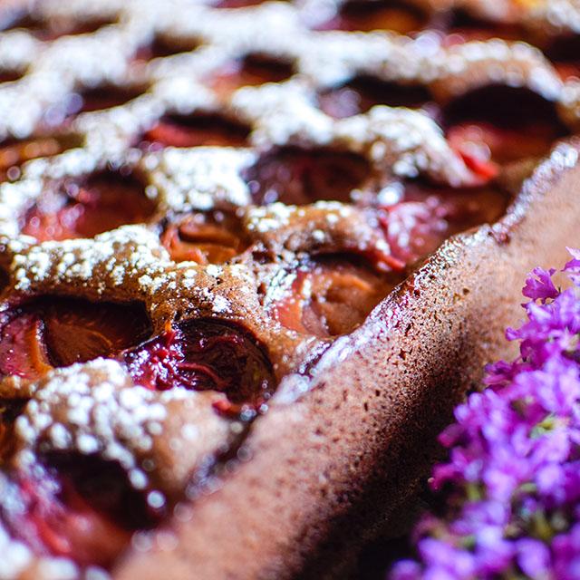 Blechkuchen Pflaumenkuchen