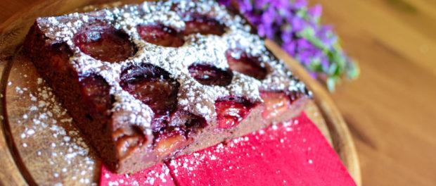 Schokoladenpflaumenkuchen
