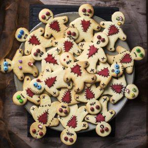 Gruselfeier-Idee-Kekse