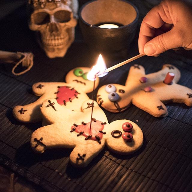 Halloweenfeier-Bueffet-Ideen