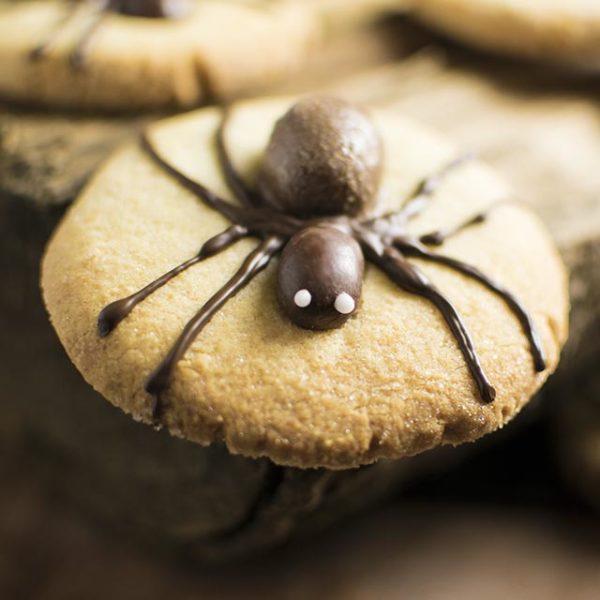 Spinnenkekse-fuer-Halloween