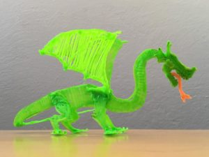 Drache Bastelidee mit dem 3D-Stift