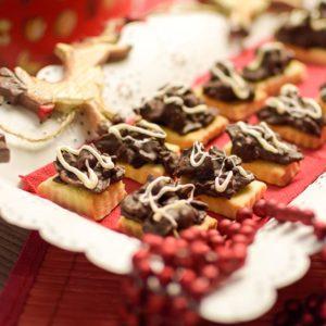 Knusprige Weihnachtsplaetzchen