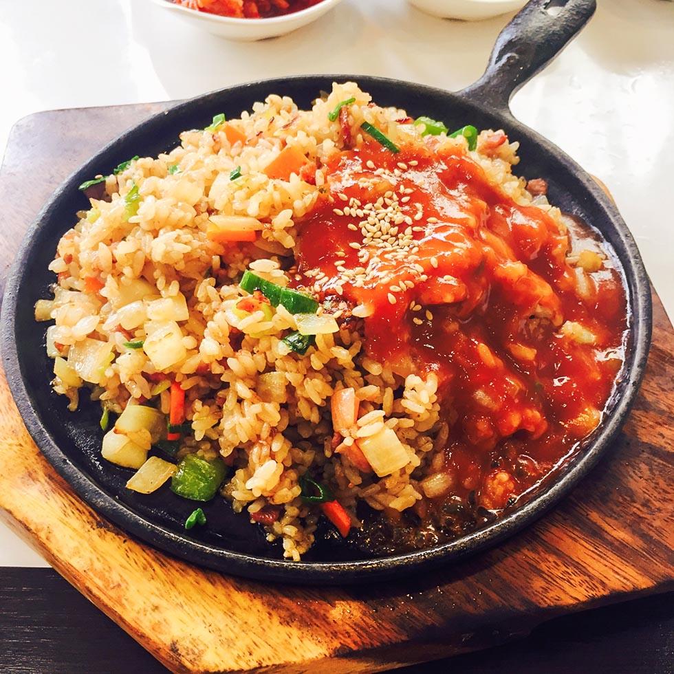 Reiskocher rezept spanischer reis mit huhn einfach und - Reis im reiskocher ...