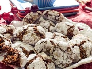 Brotlaibe mit Schokolade