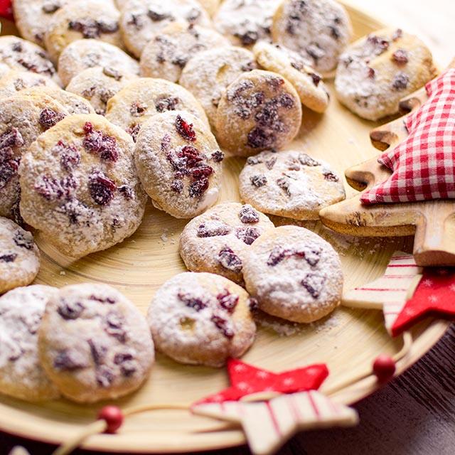 Crannbeeries-Spekulatius-Kekse