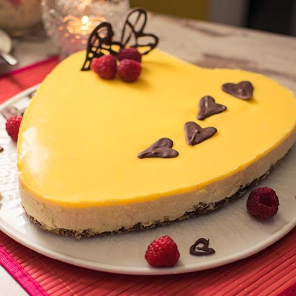 Eierlikorherz Mit Krumelboden Fur Valentinstag Und Muttertag