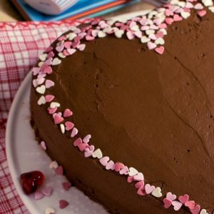Schokoladentorte-Valentinstag-Muttertag
