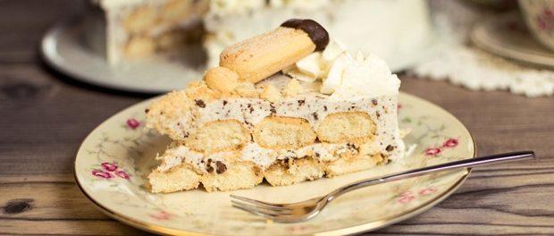 Loeffelbiskuit-Torte Rezept